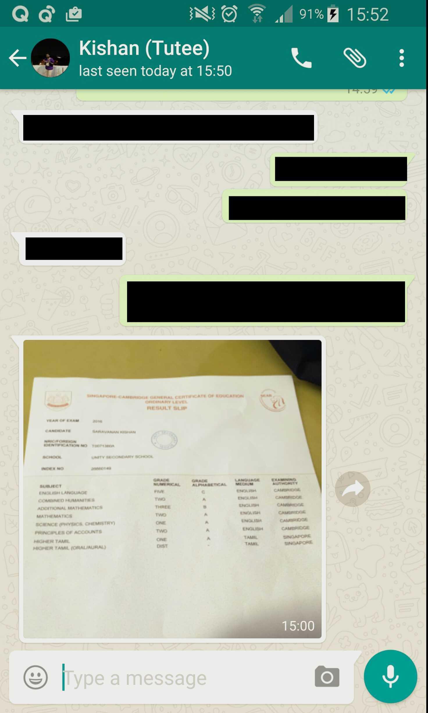 POA Tuition Testimonials, ACE Your Principles of Accounts POA Tuition Singapore